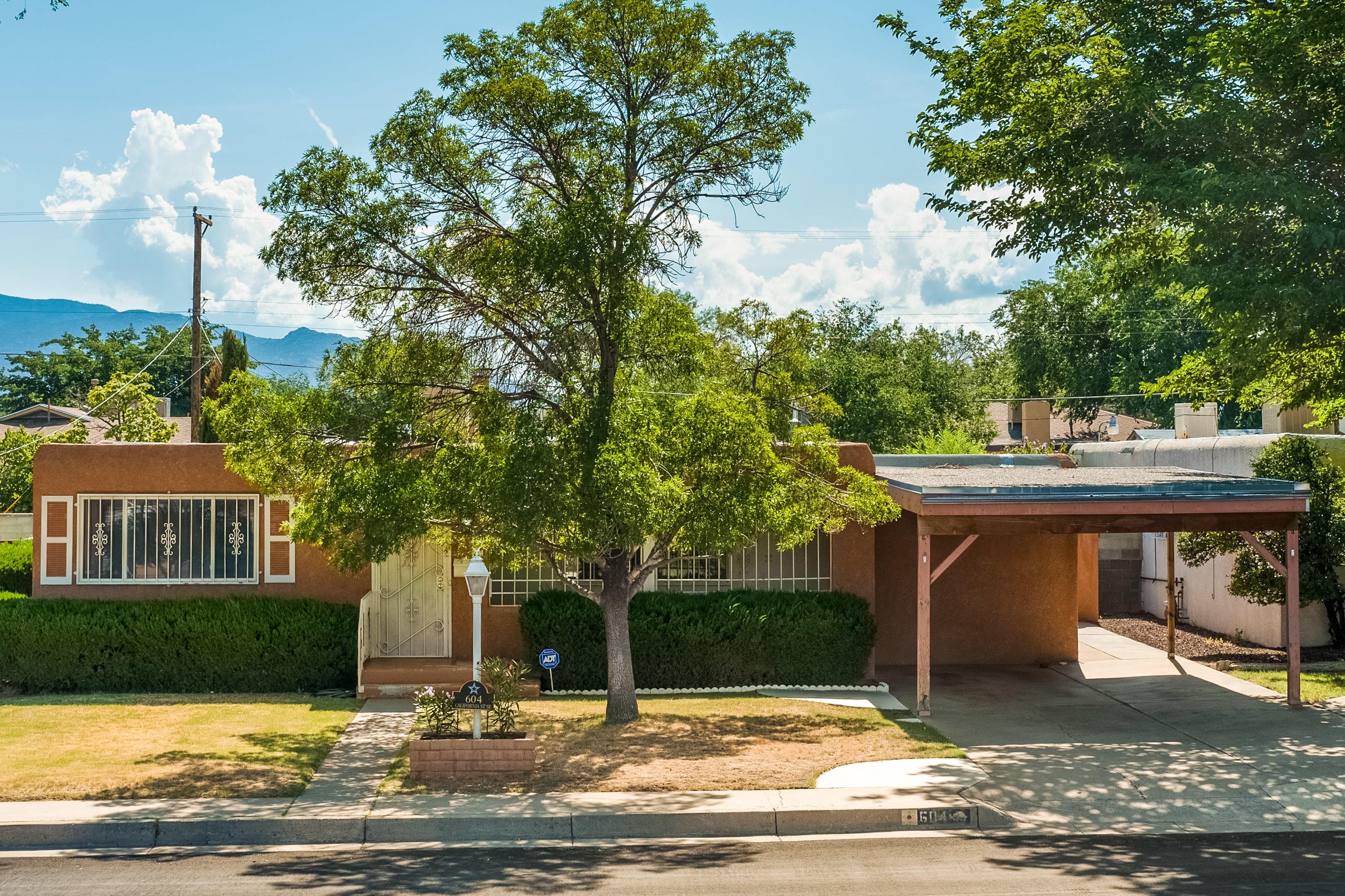 604 CALIFORNIA Street, Albuquerque NM 87108